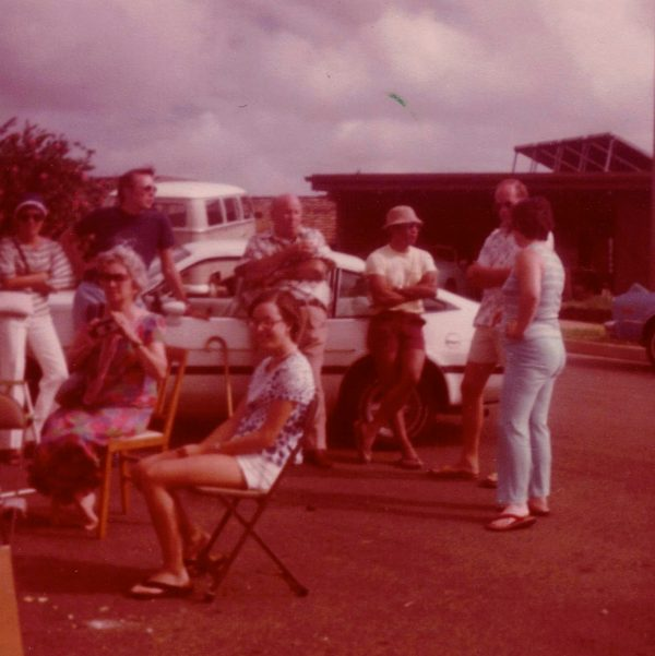 Garage party in Hawaii. Photo taken by the author's mother, Sue Anne Francis, 1978.