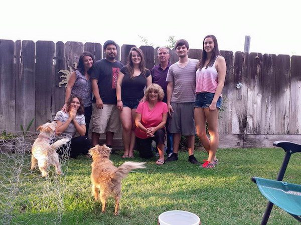 Melissa Kelly-Ortega's family.