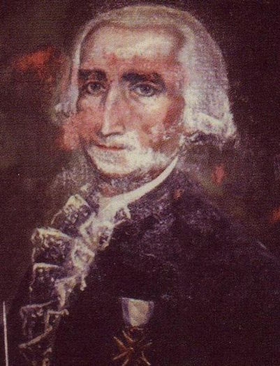 Spanish diplomat Diego de Gardoqui.