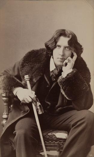 Napoleon Sarony, Portrait of Oscar Wilde, 1882.