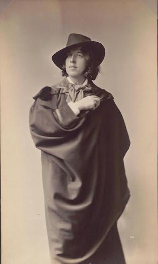 Napoleon Sarony, Portrait of Oscar Wilde, 1882.