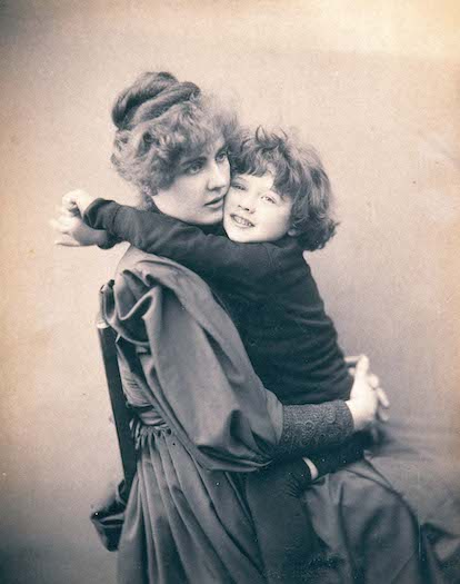 The Cameron Studio, Portrait of Constance and Cyril Wilde, 1889.
