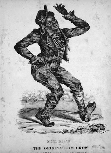 Thomas Dartmouth Rice as Jim Crow.