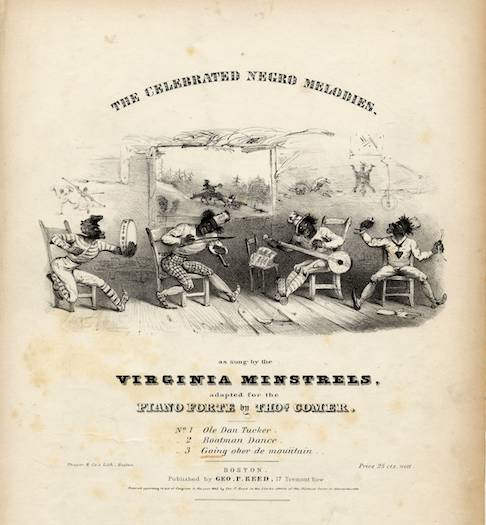 The Virginia Minstrels.