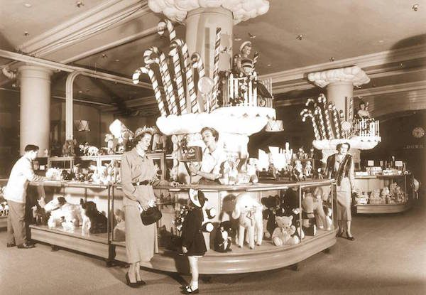 Marshall Field's in 1949.