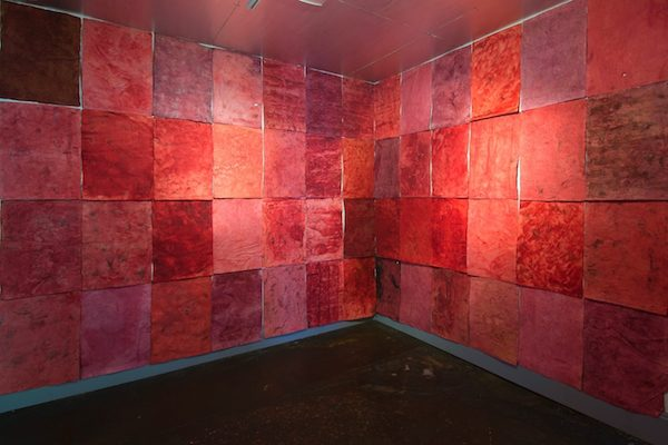 """Red Room"" installation by Elena Osterwalder. Courtesy of Elena Osterwalder."
