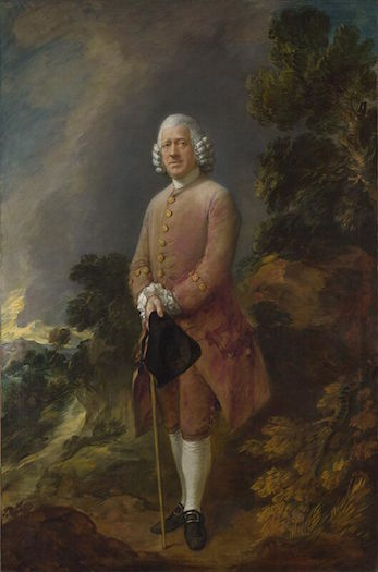 Thomas Gainsborough's Dr. Ralph Schomberg, 1770. National Gallery, London.