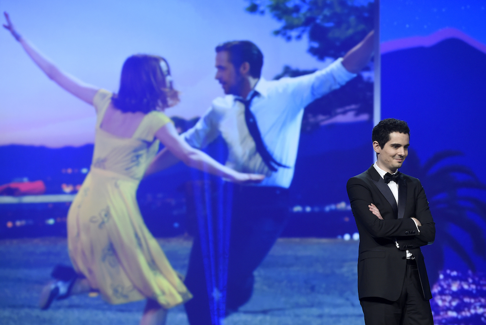 Damien Chazelle, director of La La Land, at the 28th annual Palm Springs International Film Festival Awards Gala on Jan. 2, 2017, in Palm Springs, Calif. Photo by Chris Pizzello/Associated Press.