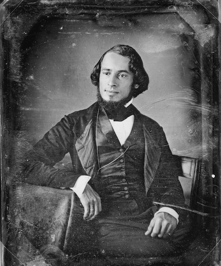 Solomon Nunes Carvalho in 1850. Courtesy of Library of Congress.