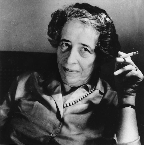 Hannah Arendt, political philosopher and scholar, in 1969. Photo by Associated Press.