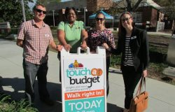 The 2016 'Touch the Budget' event held to encourage community input and involvement in Decatur, Georgia. Photo courtesy of Meredith Roark.