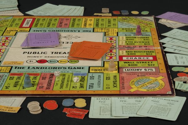Magie's Landlord's Game, the forerunner to Monopoly. Image courtesy of Tom Forsyth.
