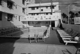 7. Hotel Pool and Deck, Taken from West. Senator Hotel Apartments, 1201 Collins Avenue, Miami, Miami-Dade County, FL. Courtesy of Library of Congress.