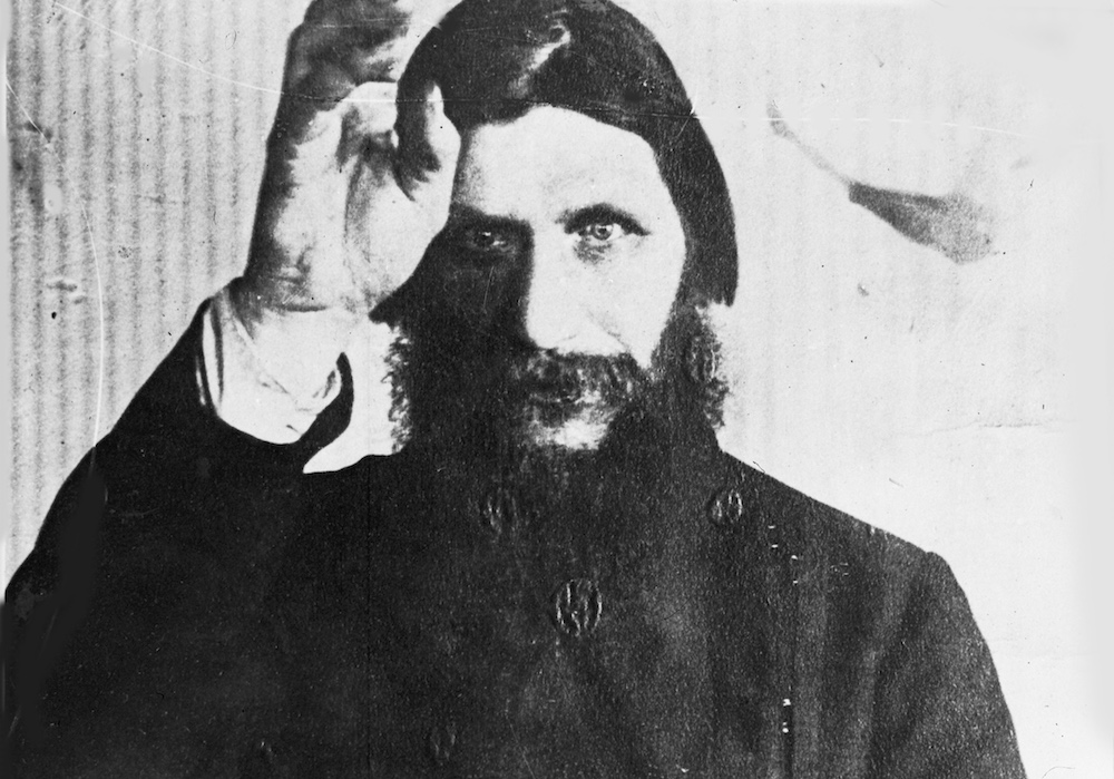 Bad influence? Undated photo of Rasputin, the self-styled monk who was killed in 1916 because of his mystic power over the Russian royal family. Photo by Associated Press.