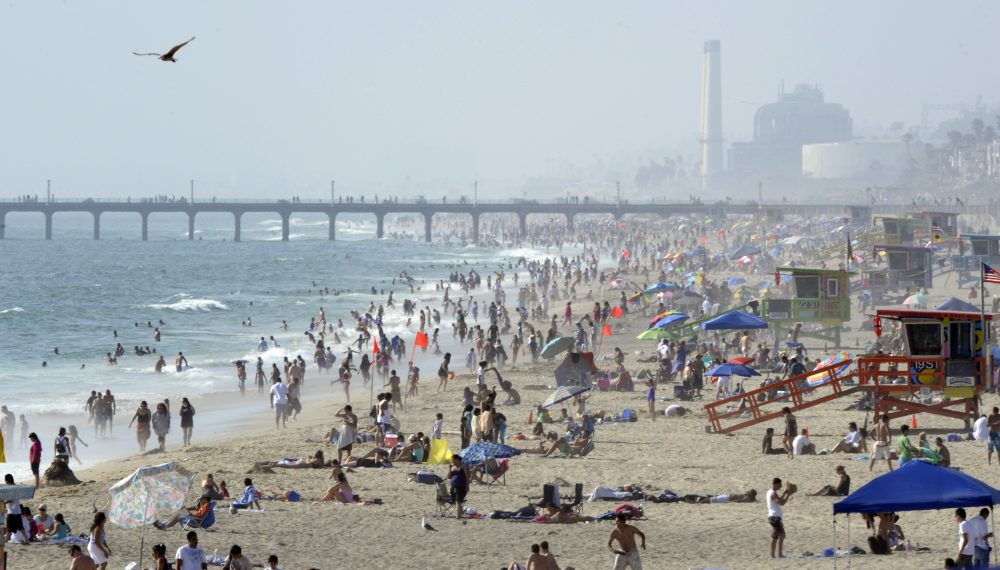 where s the laid back fun in kids summer vacations essay whatever happened to the lazy hazy endless summer crowds gather at the beach 2010 in hermosa beach calif photo by mark j terrill associated