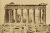 Unknown, photographer, [Parthenon], about 1865-1880, Albumen silver print. Gift of Gene Waddell. Digital image courtesy of the Getty's Open Content Program.