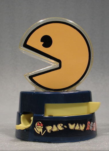 Pac-Man Gumball Bank, ca 1983. Image courtesy of Division of Work and Industry, National Museum of American History.