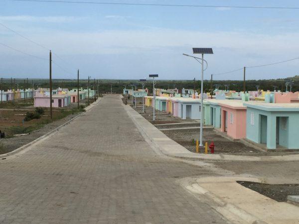 New housing development, northeastern Haiti (Inter-American Development Bank, 2015). Photo courtesy of Roger Sherman.