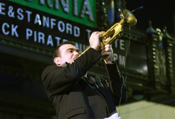 Blow that horn!  San Jose Jazz Festival, 2009. Photo courtesy of Monica P.C./Flickr.