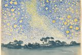 Henri-Edmond Cross. Landscape with Stars, ca. 1905–1908. Image courtesy of the Metropolitan Museum of Art.