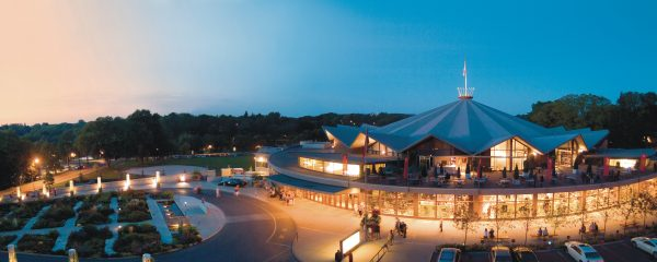 The Festival Theatre at the Stratford Festival in Stratford, Ontario, Canada. Photo by Richard Bain. Courtesy of the Stratford Festival.