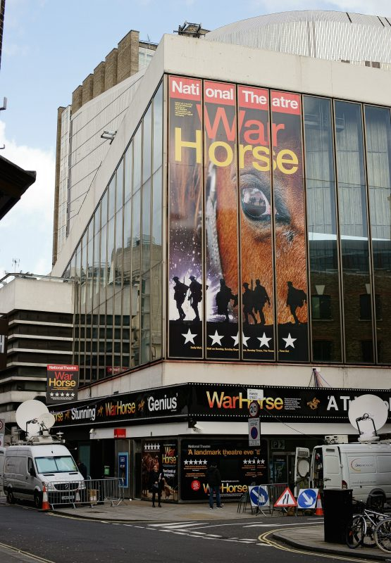 The National Theatre's production of War Horse was one of those broadcast to cinemas around the world. Photo courtesy of Peter Trimming/Flickr.
