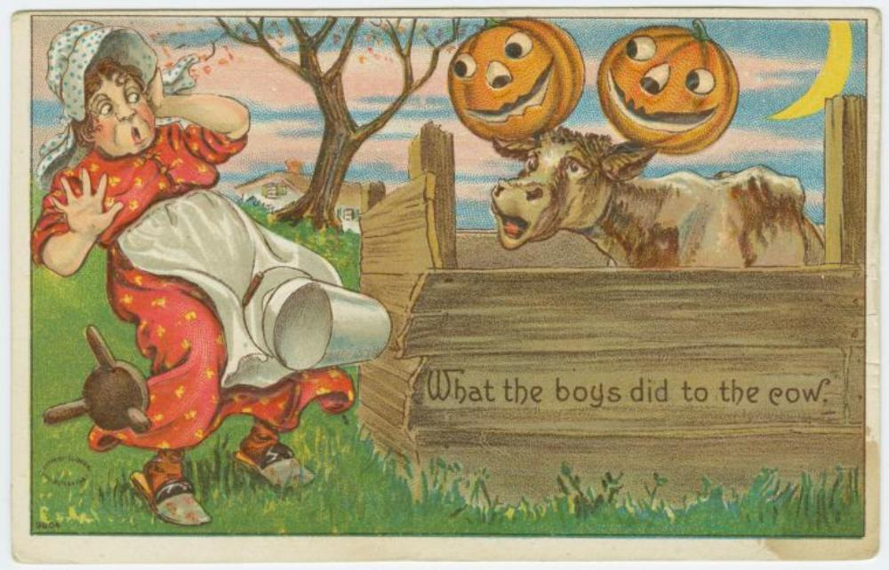 A Level English Essay Structure A  Postcard Depicts Halloween Mischief Image Courtesy Of The New York  Public Library Digital Collections How To Stay Healthy Essay also Cause And Effect Essay Topics For High School When Halloween Mischief Turned To Mayhem  Essay  Zcalo Public Square Proposal Essay Outline