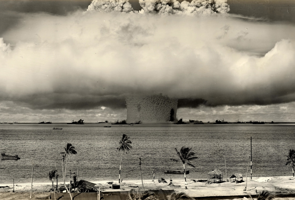 why the planet should fear n nuclear testing essay  a nuclear weapon detonates at bikini atoll in the photo courtesy of james vaughan flickr
