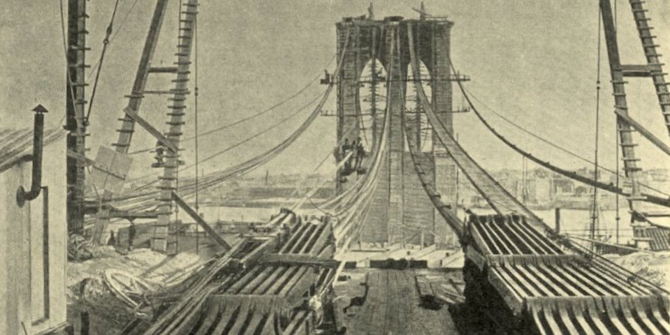 The Germanamerican Family Who Built The Brooklyn Bridge  Essay  The Germanamerican Family Who Built The Brooklyn Bridge  Essay  Zcalo  Public Square