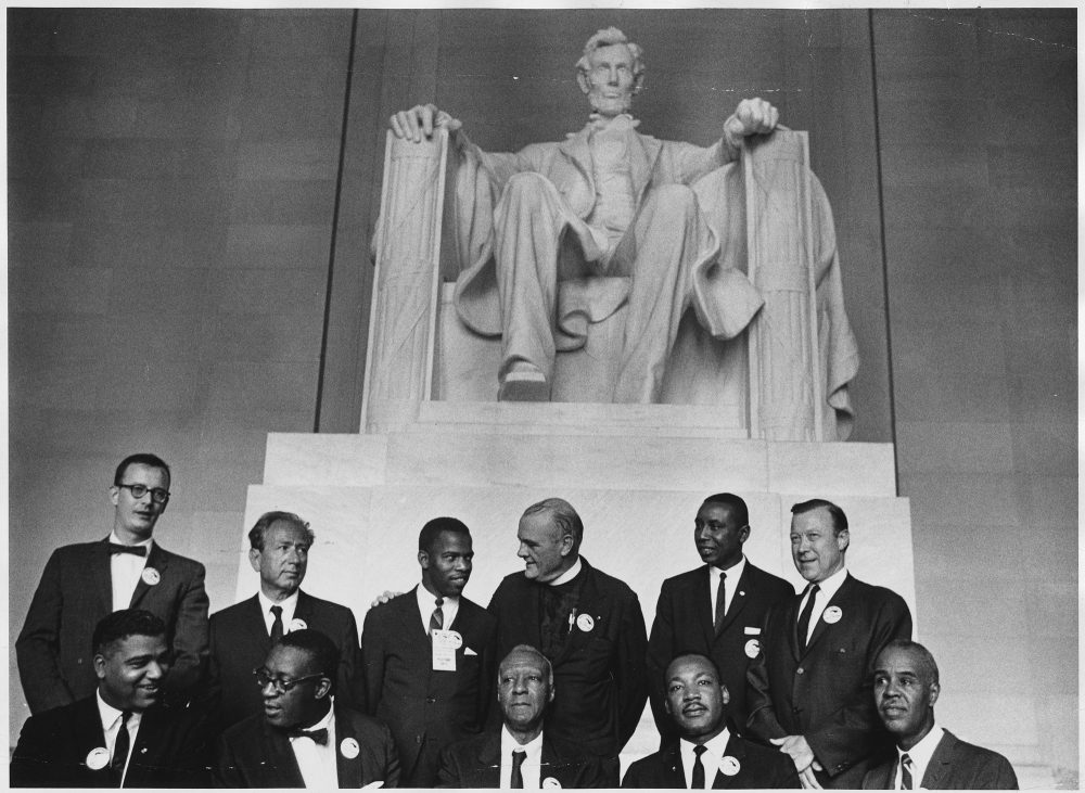 Top English Essays Leaders Of The Civil Rights March On Washington Dc Aug   Photo  Courtesy Of Wikimedia Commons Healthy Foods Essay also Essay Papers For Sale Why Washington Dc Is The Most Undemocratic Of Capitals  Essay  Best Business School Essays
