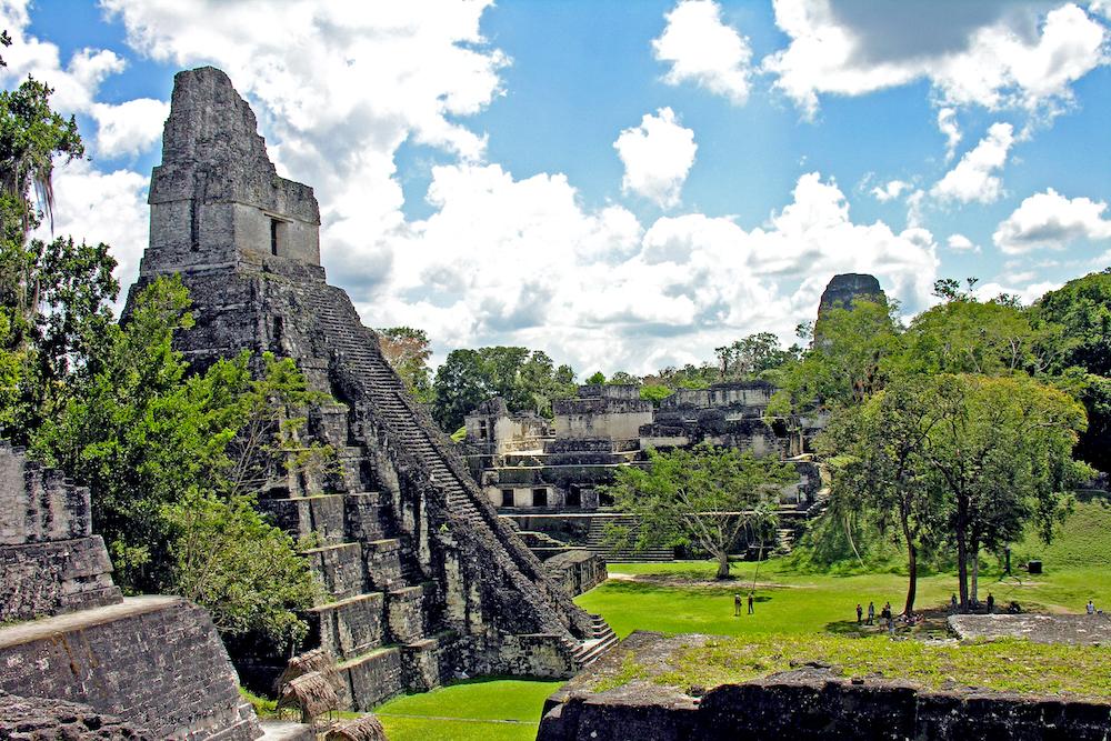 belize mayan ruins tikal