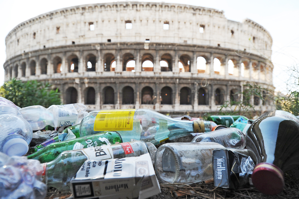 How To Write A Proposal For An Essay Uncollected Garbage Near The Colosseum In Rome Courtesy Of Shutterstock Examples Of High School Essays also Essay Research Paper Why Im Staying In Rome Even While It Crumbles  Essay  Zcalo  Science In Daily Life Essay