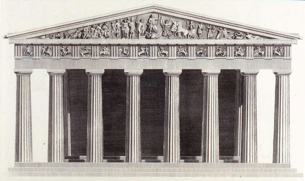 5 Parthenon why do so many public buildings in the u s look like greek temples