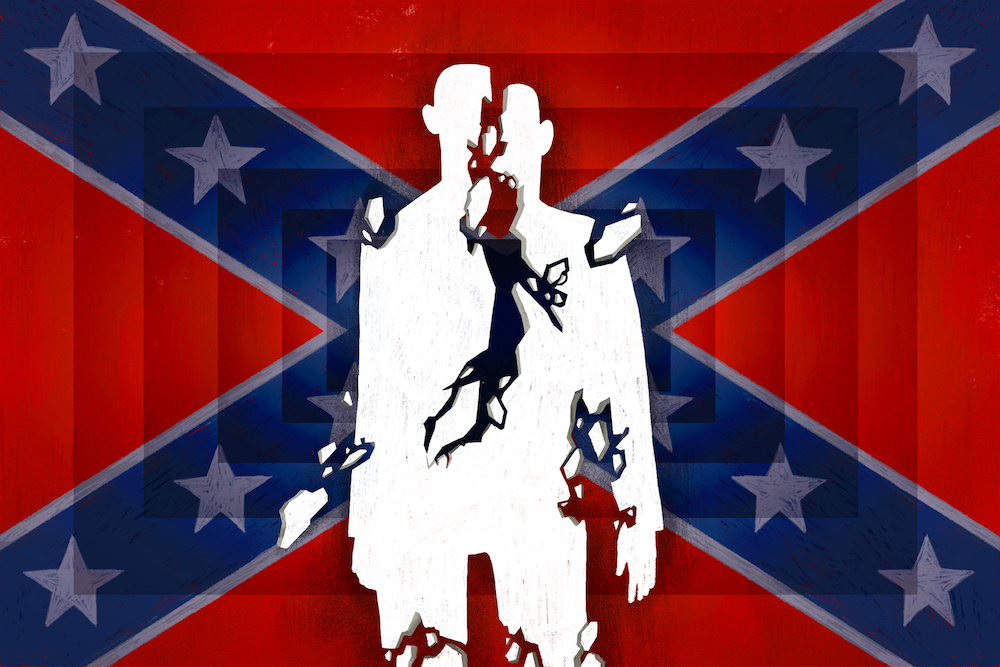 todays battle over the confederate flag has nothing to do with the  popular well beyond the south it is now a modern symbol of white grievance  and nostalgia for crumbling hierarchies
