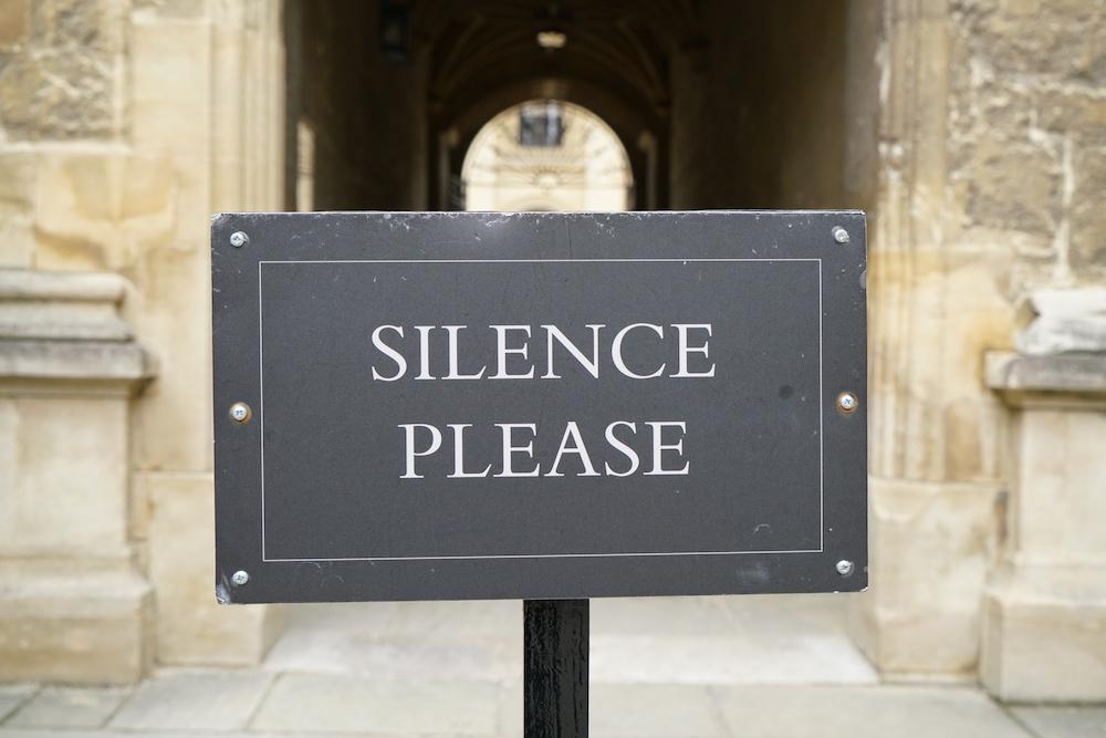 The Radical Meaning of Silence | Zocalo Public Square • Arizona State University • Smithsonian