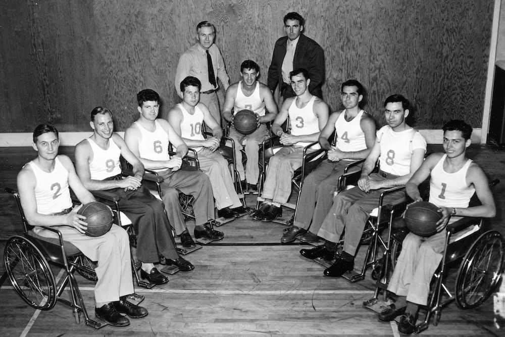 The Birth of Wheelchair Basketball | Zocalo Public Square • Arizona State University • Smithsonian