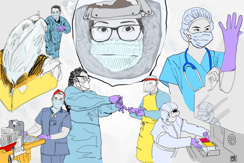 The Hidden Health Care Workers Keeping Hospitals Safe | Zocalo Public Square • Arizona State University • Smithsonian