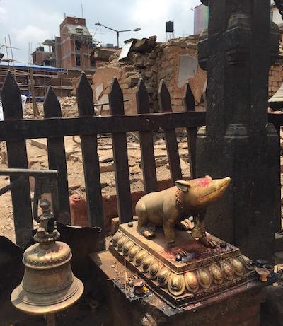 "Where I Go<span class=""colon"">:</span> VisitingMushakraj, a Rodent Icon in Kathmandu | Zocalo Public Square • Arizona State University • Smithsonian"
