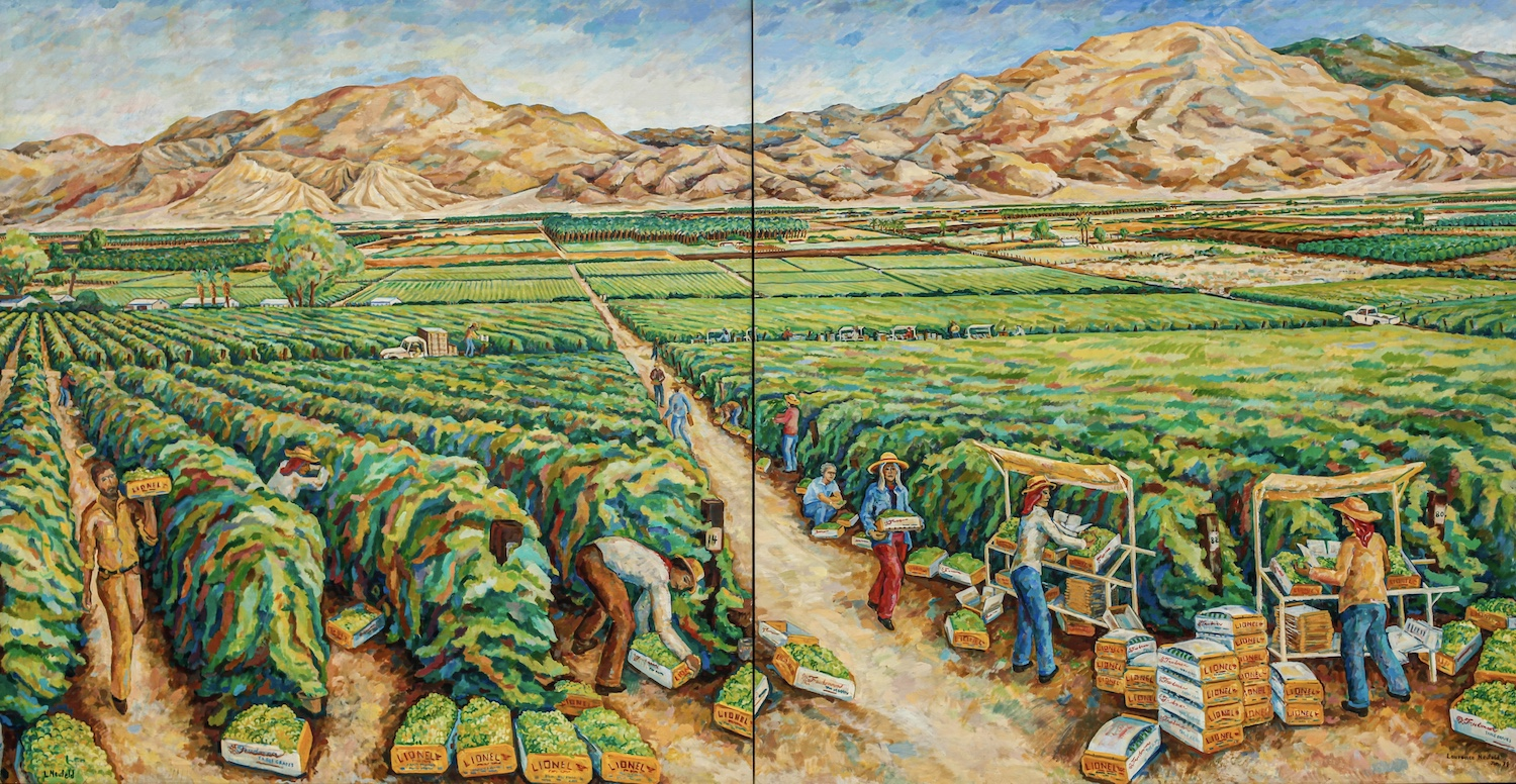 A Mural Once Familiar to Thousands of Farm Workers Comes Home to the Coachella Valley | Zocalo Public Square • Arizona State University • Smithsonian