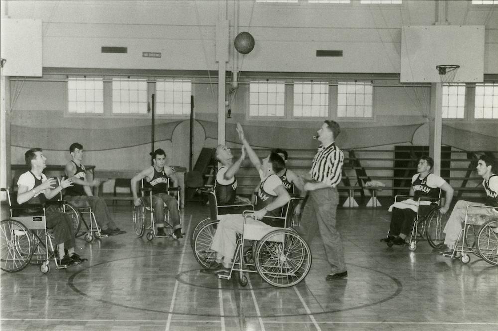 Bob Rynearson and athletes.