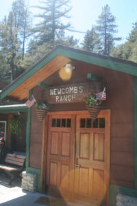 Newcomb's Ranch front door