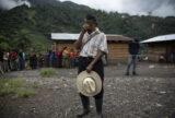 A man in Nuevo Quejá